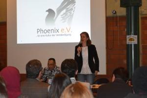 Begrüßung durch Geschäftsführerin Integrationsrat/Integrationsplanung Michaela Morschhoven